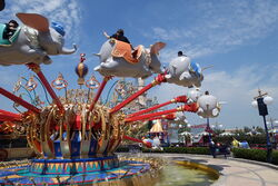 Dumbo the Flying Elephant shanghai