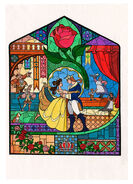 Beauty-and-the-Beast-Concept-Art-Stained-Glass