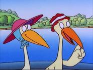 Connie and Captain Crane