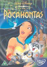 Pocahontas 2001 UK DVD
