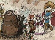 Robin Hood Wedding Concept Art