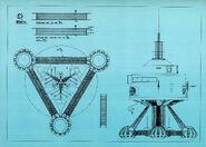 U S S Palomino Blueprint