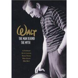 Walt - The Man Behind the Myth DVD cover