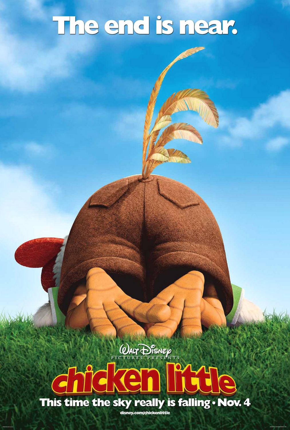 Image result for chicken little poster