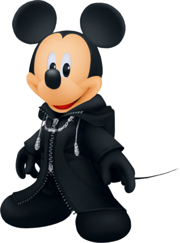 File:King Mickey (Black Coat) KHII.png
