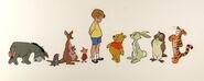Winnie the pooh line up