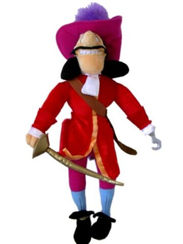 File:Captain Hook with sword plush.jpg