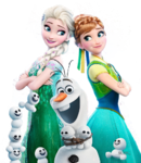 Frozen Fever Transparent Poster