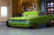 Green Ramone in Shop