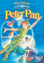 Peter Pan 2002 UK DVD