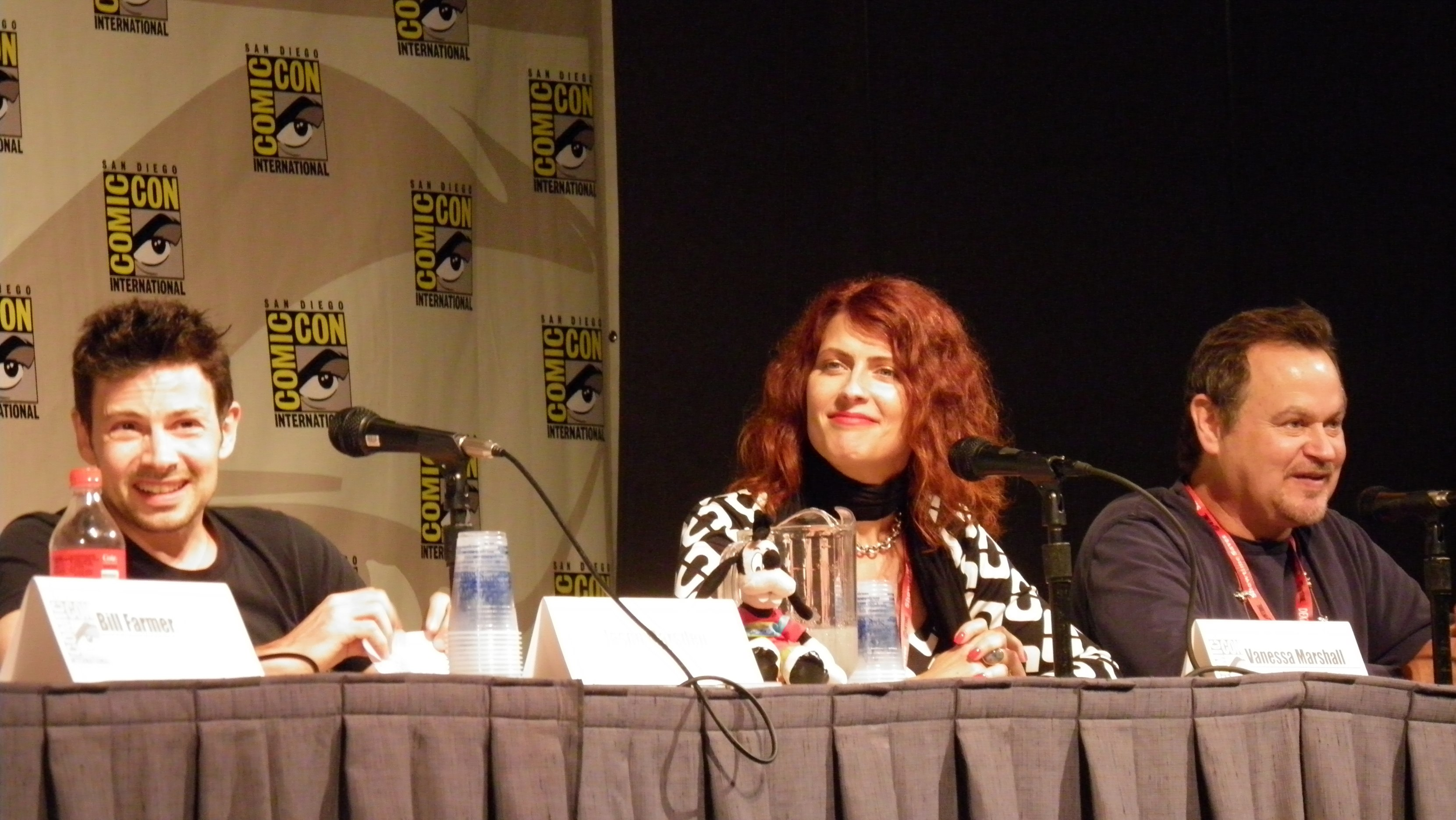 File:Jason Marsden, Vanessa Marshall, and Gregg Berger at Cartoon Voices II Panel.jpg