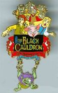 Black Cauldron Pin