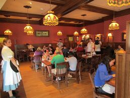 Carnation Cafe Indoor Seating