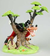 Big Bad Wolf Figurine