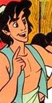 Jasmine as aladdin