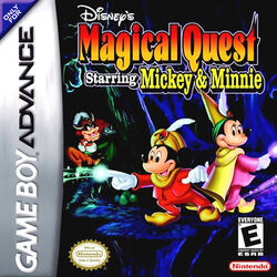 Magical Quest GBA Boxart