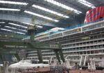 2011-08-26 Papenburg Meyer Werft Disney Fantasy