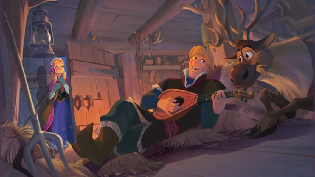 Frozen Disney Anna And Kristoff