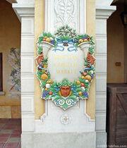 Venetian Carnival Market Sign
