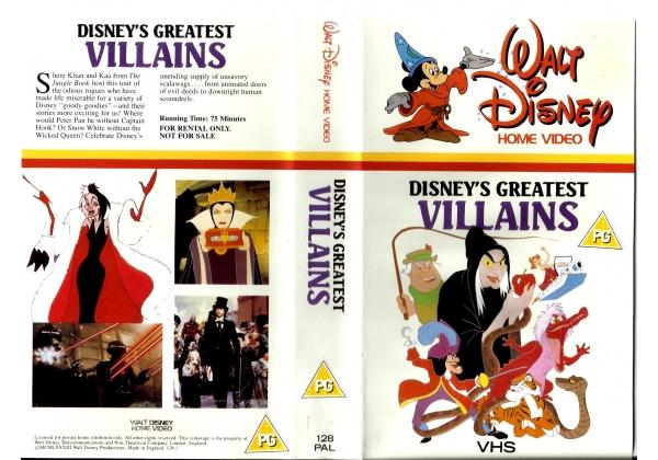Disneys Atlantis The Villains: Disney's Greatest Villains