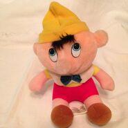 Pinocchio hardees plush