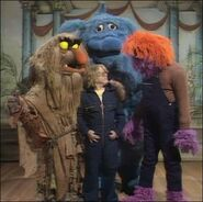 Paul Williams with Muppet Monsters