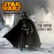 The Empire Strikes Back Read-Along Storybook and CD Cover