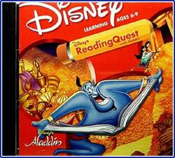 Reading quest with aladdin