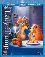 Lady and the Tramp Combo Pack