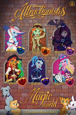 Disney Attractionistas Logo