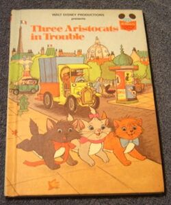 Three aristocats in trouble
