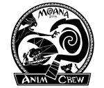 Moana Animation Crew Emblem by Trent Correy