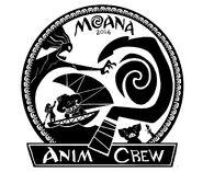 Moana Animation Crew Emblem by Trent Correy