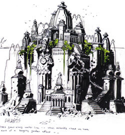 Mignola Atlantis Design