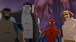The Howling Commandos & Spider-Man USM