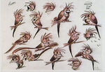 Lion king concept art character zazu 06