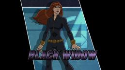 Ultimate Spider Man Black Widow Black Widow - Disney F...