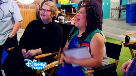 Debby Ryan and Raini Rodriguez Direct! Jessie and Austin and Ally Behind The Scenes