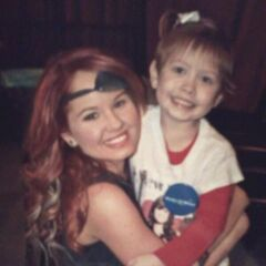 Found Photo Debby use the partch in the eye is fake and one fan