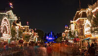 Main Street, U.S.A. Disneyland