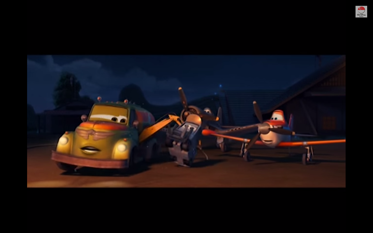 Image - Chug sparky skipper dusty.png | Planes Wiki ...