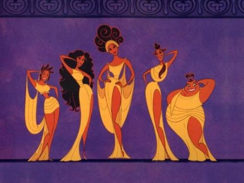 The Muses ♥ | We Heart It | disney, hercules, and muses