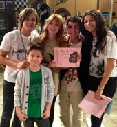 Leo, Zendaya, Bella, Davis, and Adam