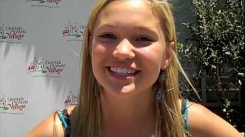 We go Back to School with Olivia Holt - 2011