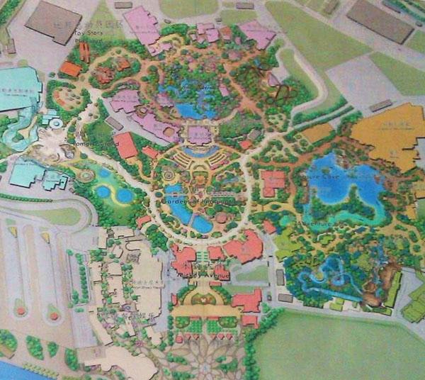 Shanghai Disneyland Disney Theme Parks Wiki FANDOM Powered By - Disneyland brazil map