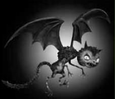 Frankenweenie Vampire Cat Attack Game