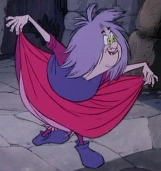Mad Madame Mim | video | song | The Sword in the Stone