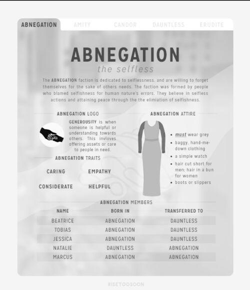 Abnegationfild