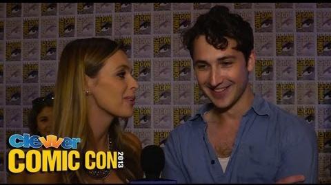 Ben Lloyd-Hughes Talks Divergent Mind Simulation at 2013 Comic-Con