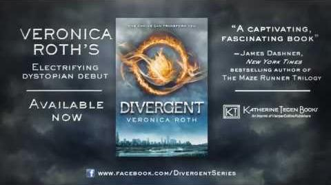 DIVERGENT by Veronica Roth - Book Trailer